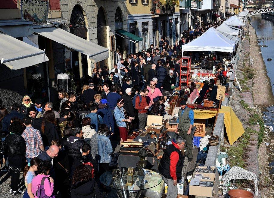 Mercato antiquariato milano