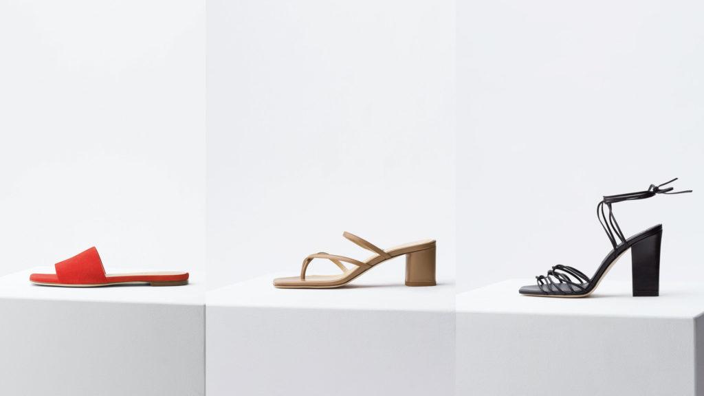 Sandali sostenibili Aeyde