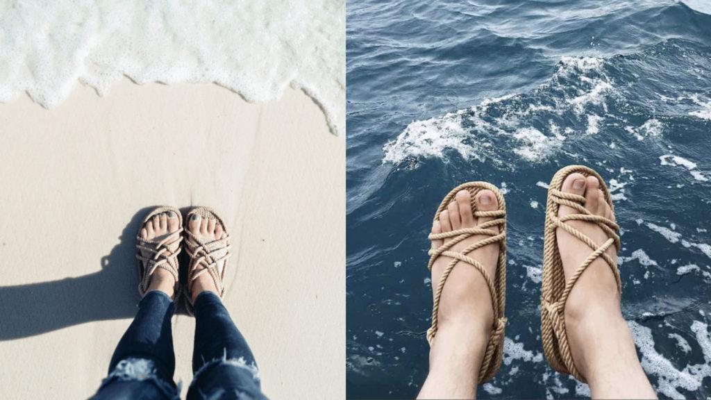 Sandali sostenibili Corda