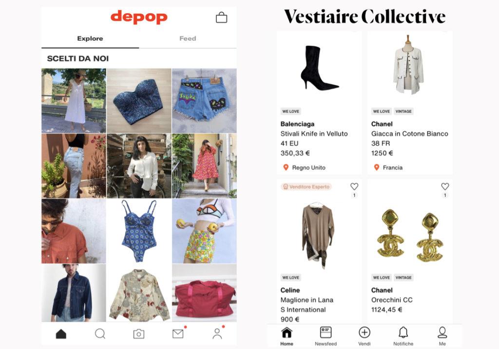vendere abiti usati online