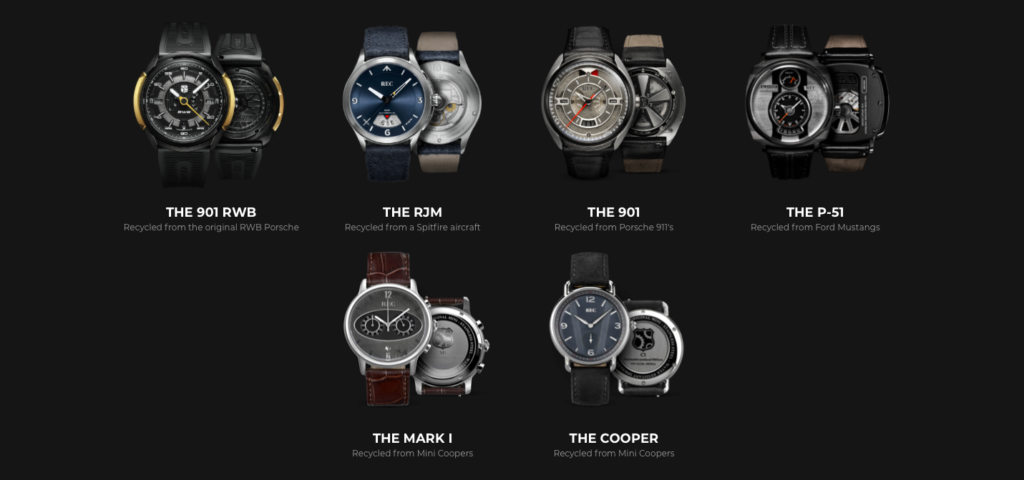 moda sostenibile uomo orologi rec