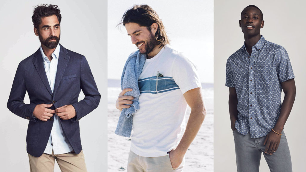 moda sostenibile uomo Faherty
