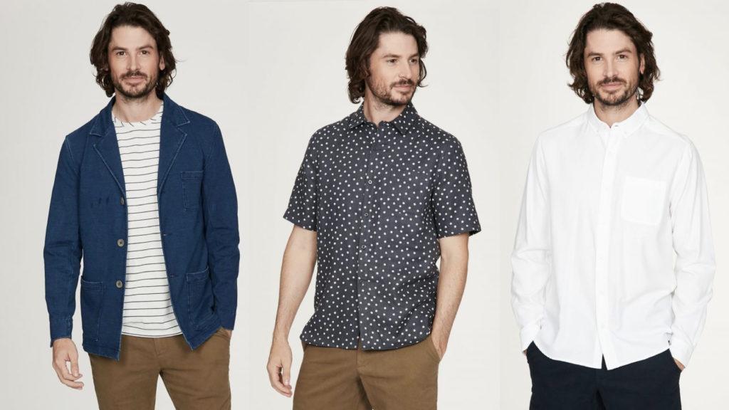 moda sostenibile uomo thought clothing