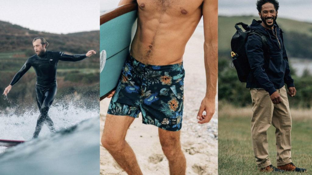 moda sostenibile uomo moda mare