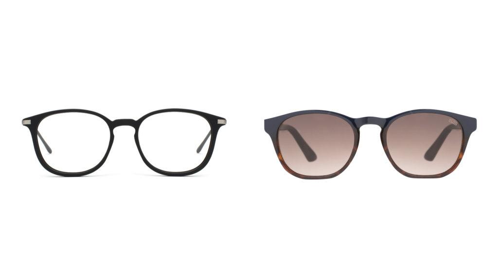moda sostenibile uomo occhiali