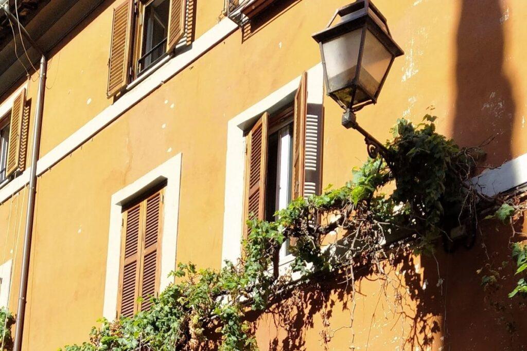 Veduta del quartiere Monti Roma