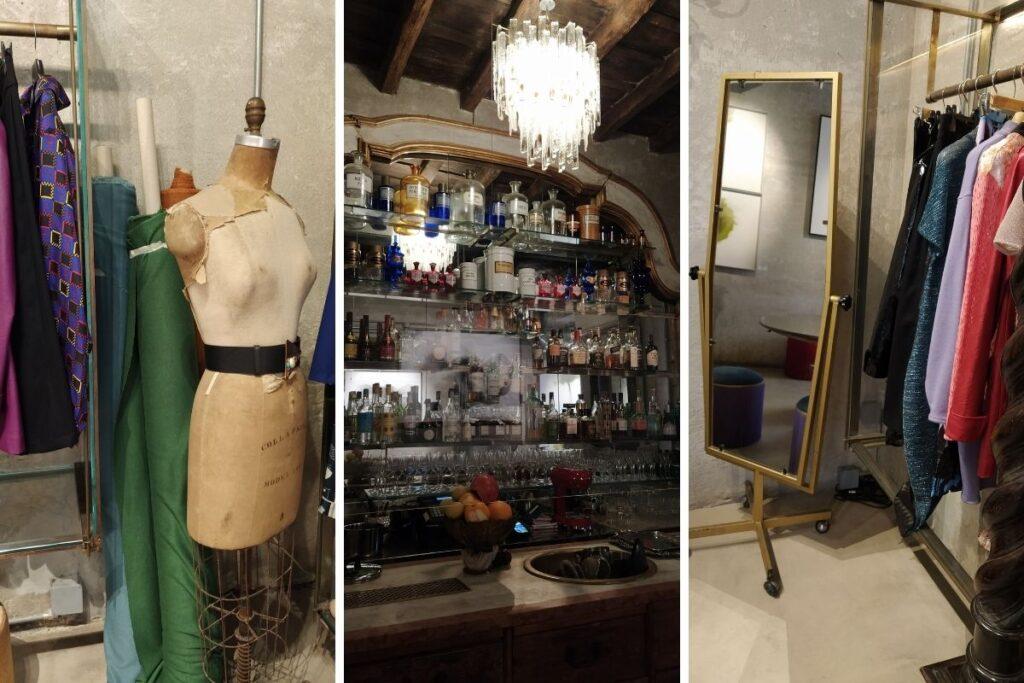 moda sostenibile roma Le Gallinelle alla Sacripante Gallery