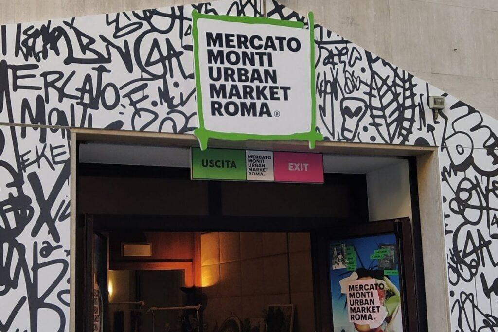 moda sostenibile roma Entrata Mercato Monti Urban Market