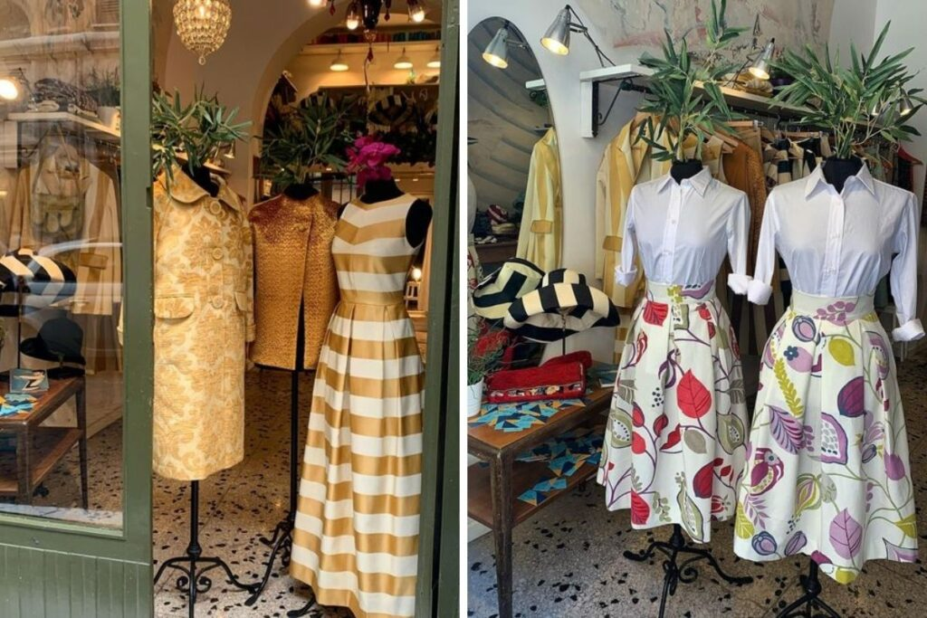 moda sostenibile roma Abiti Tina Sondergaard